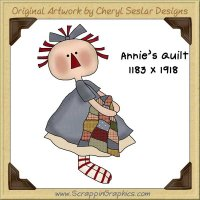 Annie's Quilt Single Graphics Clip Art Download