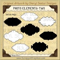 Photo Elements Two Limited Pro Clip Art Graphics