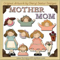 Just Mom Collection Graphics Clip Art Download