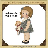 Doll Sweetie Single Graphics Clip Art Download