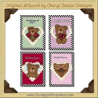 Love Bears Cards Sampler Card Collection Download