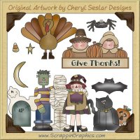 Fall Bonanza Mega 88 Piece Collection Clip Art Download