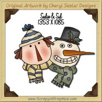 Sadie & Sid Single Graphics Clip Art Download