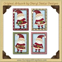 Whimsical Nick Cards Collection Printable Craft Download