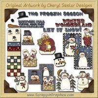 Freezin Season Collection Clip Art Download