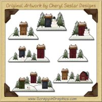 Saltbox Winter Collection Graphics Clip Art Download
