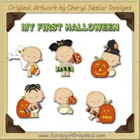 Baby's First Halloween Clip Art Download