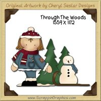 Through The Woods Single Graphics Clip Art Download