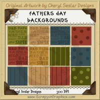 Father's Day Background Tiles Clip Art Graphics