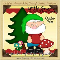 Little Gnome Cutter Cutting Files Collection