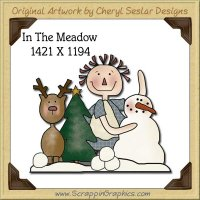 In The Meadow Single Graphics Clip Art Download