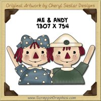 Me & Andy Single Graphics Clip Art Download