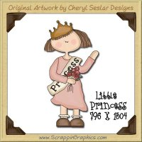 Little Princess Single Graphics Clip Art Download