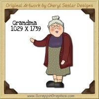 Grandma Single Graphics Clip Art Download