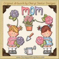 Mommy's Girl Limited Pro Clip Art Graphics