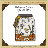 Halloween Treats Single Graphics Clip Art Download