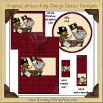 Little Pirates Wrapper Set Printable Craft Collection Graphics C