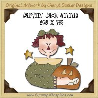 Carvin' Jack Annie Single Graphics Clip Art Download