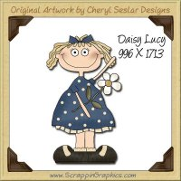 Daisy Lucy Single Graphics Clip Art Download