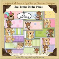 Bag Topper Hodge Podge Clip Art Graphics