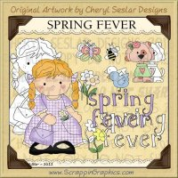 Spring Fever Limited Pro Clip Art Graphics