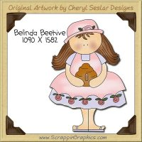 Belinda Beehive Single Clip Art Graphic Download