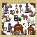 Annie On The Farm Collection Clip Art Download