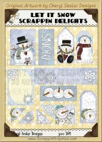 Let It Snow Scrappin' Delights Clip Art Graphics