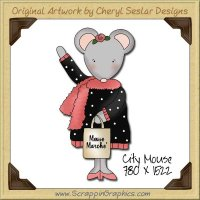 City Mouse Single Graphics Clip Art Download