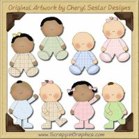 Little Ones Collection Graphics Clip Art Download