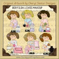 Bertilda Loves Makeup Limited Pro Clip Art Graphics