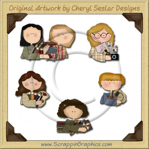 Crafty Gals Graphics Clip Art Download