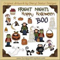 Fright Night Clip Art Download