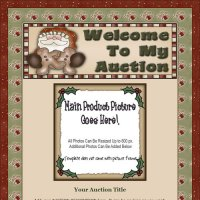 Christmas Wishes Santa Auction Template