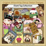 Giant Tag Collection Printable Craft Download