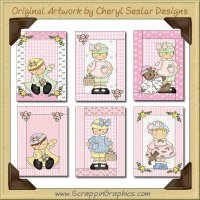 Frilly Country Babes Cards Limited Pro Graphics Clip Art Downloa