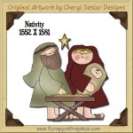 Nativity Single Graphics Clip Art Download