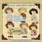 Bertilda Christmas Sweets Limited Pro Clip Art Graphics