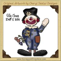 Silly Clown Single Graphics Clip Art Download