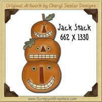 Jack Stack Clip Single Graphics Clip Art Download