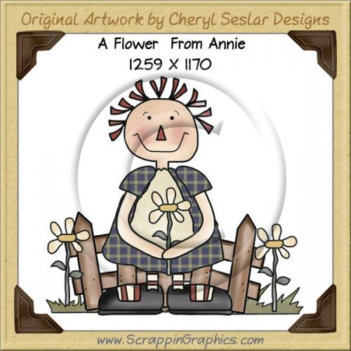 A Flower From Annie Single Graphics Clip Art Download