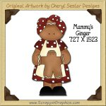 Mammy's Ginger Single Graphics Clip Art Download