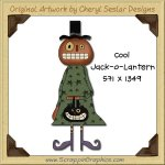 Cool Jack-O-Lantern Single Graphics Clip Art Download