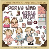 Girl's Rule Collection Graphics Clip Art Download