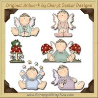 Fairy Babies Graphics Clip Art Download