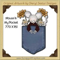 Mouse In My Pocket Single Graphics Clip Art Download