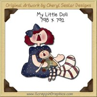 My Little Doll Single Graphics Clip Art Download