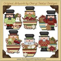 Nutcracker Bowls Clip Art Download