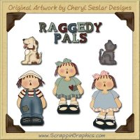 Raggedy Pals Graphics Clip Art Download