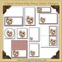 Grubby Little Dolls Printable Pack Graphics Clip Art Download